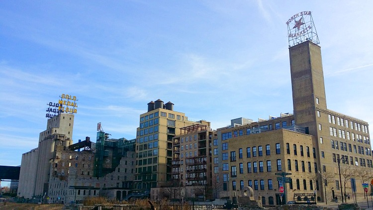 Mill City Historical Complex in Minneapolis