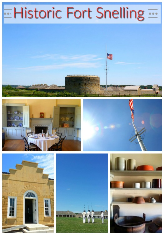 Fort Snelling Historic Site in Minnesota