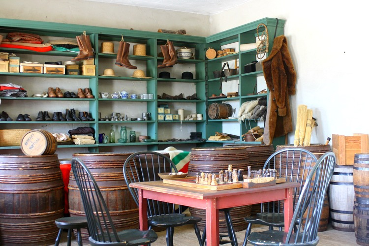 General Store at Fort Snelling
