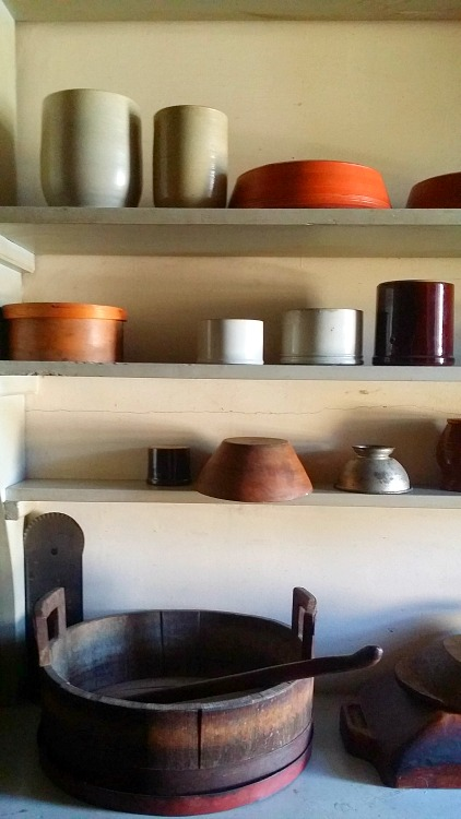 Kitchen at Fort Snelling
